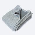 Муслиновое одеяло Mjölk Пыльный серый