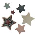 Пирамидка-формочки Nesting Star