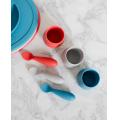 Набор из 2х силиконовых ложек ezpz - Tiny Spoon (светло-серый)