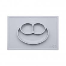 Тарелка ezpz - Happy Mat (светло-серый)