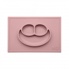 Тарелка ezpz - Happy Mat (нежно-розовый)