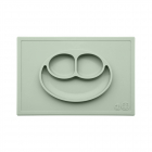 Тарелка ezpz - Happy Mat (оливковый)