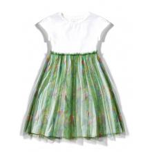 Платье с попугаями
