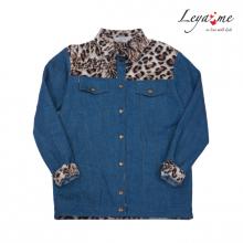 Куртка джинсовая комбинированная