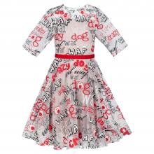 """Коктейльное платье """"Woof"""""""