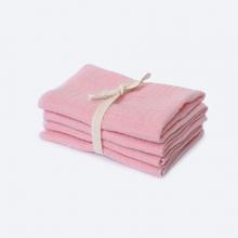 Сет из 4х муслиновых салфеток Mjölk Rose Quartz
