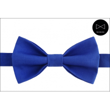Галстук-бабочка ярко-синяя