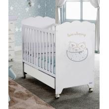 Кроватка 120x60 Micuna Love Sleeping Матрас полиуретановый СН-620 White