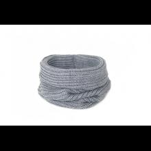 Снуд серый (холодный оттенок)