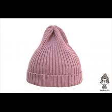 Шапка пыльно-розовая