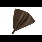 Косынка коричневая