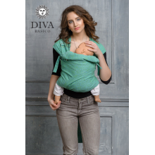 МАЙ-СЛИНГ ОТ 6 МЕС. DIVA BASICO LIME TODDLER