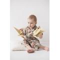 Пижама Юката серая с бамбуком